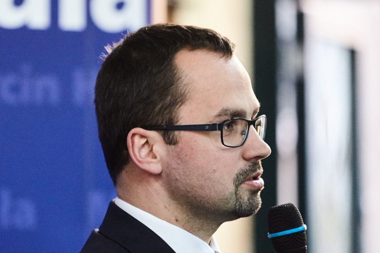Poseł Marcin Horała stoi za ustawą, która umożliwiła skok PiS na portowe spółki w Trójmieście