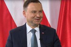 Andrzej Duda rozbawił sam siebie.