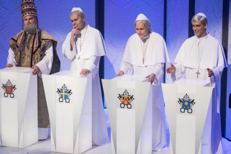 Papież Franciszek w konkursie Telewizji Narodowej miał... przechlapane. Mógł wygrać tylko jeden papież.