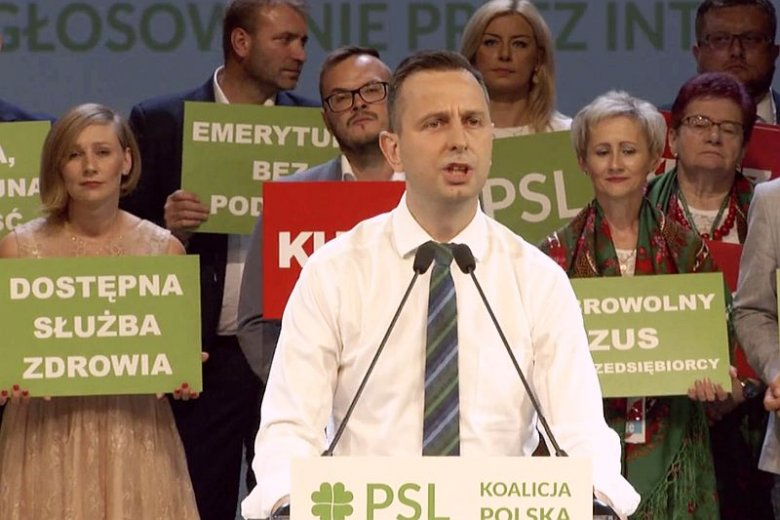 Na konwencji wyborczej PSL w Płocku Władysław Kosiniak-Kamysz próbował wyjaśnić przyczyny zawarcia Koalicji Polskiej z Kukiz'15.