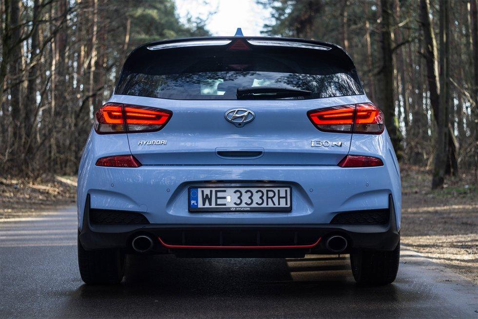 Podwójny wydech w Hyundai i30N to tylko zapowiedź emocji.