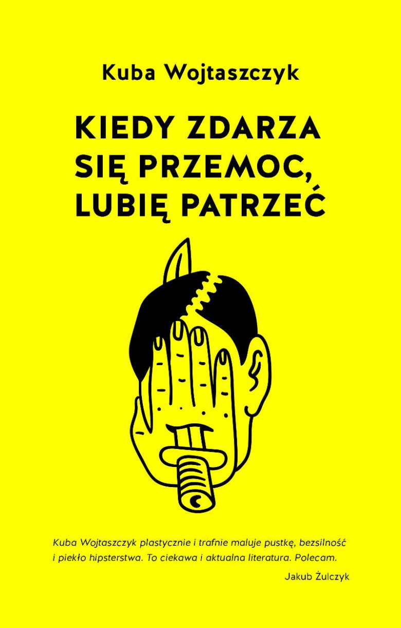 Okładka książki Kuby Wojtaszczyka.
