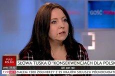 Joanna Lichocka nie ma zbyt dobrego zdania o Donaldzie Tusku – i to delikatnie mówiąc.