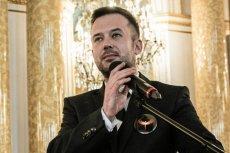 Przemek Staroń odebrał na Zamku Królewskim nagrodę dla Nauczyciela Roku.