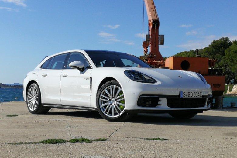Porsche Panamera Sport Turismo, czyli po naszemu... kombi.