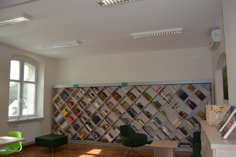 Biblioteka w Grabowie dziś
