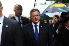 """Bronisław Komorowski """"ocenia taśmy jako poważny kryzys instytucji państwa""""."""