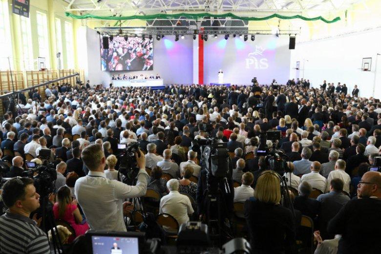 W Przysusze odbył się Kongres PiS, ostatnio był tu premier Morawiecki, słychać, że może przyjechać prezydent Andrzej Duda.