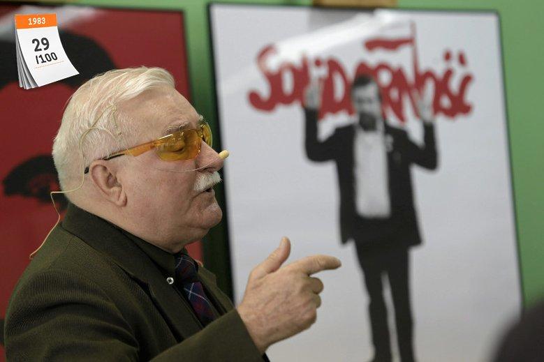 """Lech Wałęsa to legendarny współzałożyciel ogólnopolskiego związku zawodowego """"Solidarność''. W 1983 roku otrzymał Pokojową Nagrodę Nobla. Jak dotąd jest jedynym polskim laureatem w tej kategorii"""