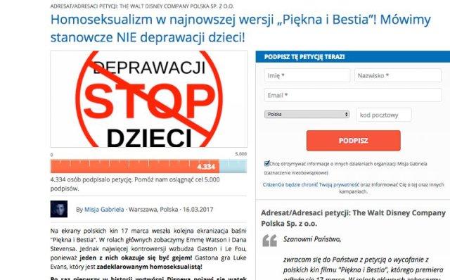 """""""Homoseksualizm w 'Pięknej i Bestii""""! Mówimy stanowcze NIE deprawacji dzieci"""" - apeluje ojciec Przemysław Śliwiński"""