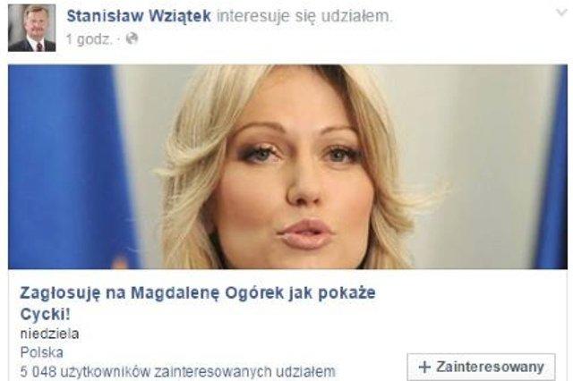 Poseł Stanisław Wziątek przeprosił już za swoją pomyłkę