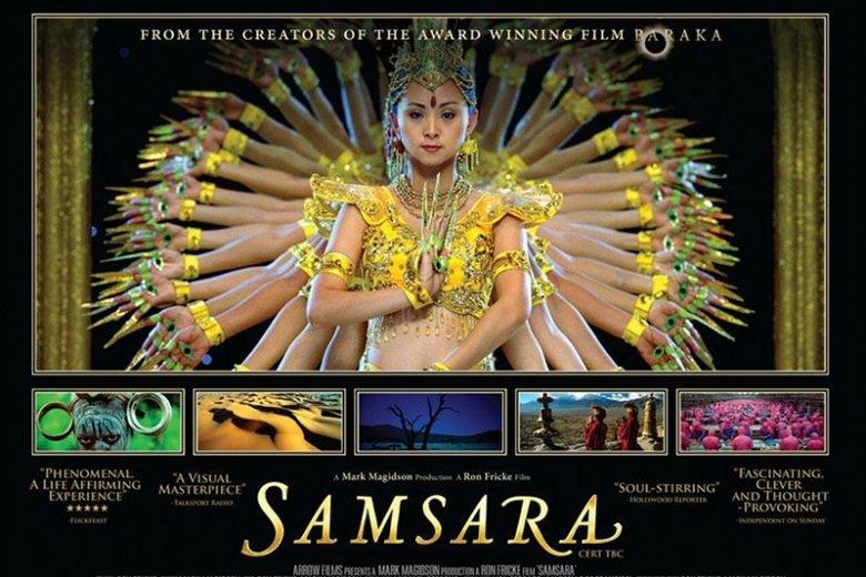 "Plakat filmu ""Samsara"""
