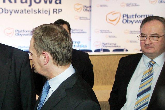 Jacek Saryusz-Wolski jednak nie knuje za plecami Donalda Tuska?