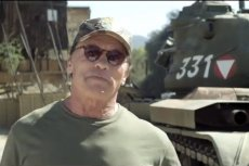 Arnold Schwarzenegger kupił sobie czołg