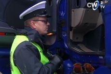 ITD we Włocławku wystawiło kierowcy ciężarówki rekordowy mandat.