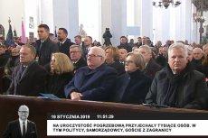 W pierwszej ławie na pogrzebie Pawła Adamowicza zasiedli kiedyś wojujący ze sobą politycy: Lech Wałęsa i Aleksander Kwaśniewski