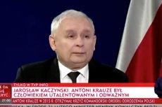"""Jarosław Kaczyński """"wyjaśnił"""", dlaczego Antoni Krauze zmarł."""