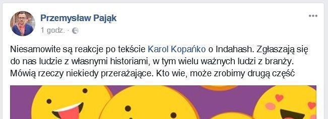 Screen / FB Karol Kopańko