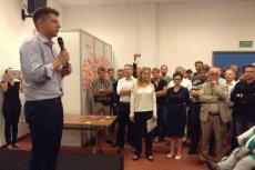 Spotkaniem w Krakowie Ryszard Petru rozpoczął serie spotkań w największych miastach Polski.
