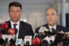 Grzegorz Schetyna i Ryszard Petru ogłosili wspólnego kandydata w Warszawie. Będzie nim Rafał Trzaskowski
