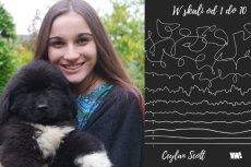"""Ceylan Scott, która ma zdiagnozowaną osobowość typu borderline, napisała swoją debiutancką powieść """"W skali od 1 do 10"""", gdy przebywała w szpitalu psychiatrycznym. Fabuła opowiada o losach niedoszłej samobójczyni – hospitalizowanej 17-letniej Tamary"""