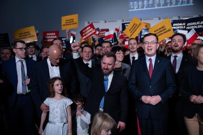 Konfederacja KORWiN Braun Liroy Narodowcy startuje w wyborach do Parlamentu Europejskiego.