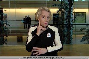 Helga Stevens ubiega się o fotel przewodniczącej Parlamentu Europejskiego.