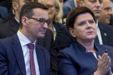 Mateusz Morawiecki i Beata Szydło. Kto z nich jest lepszym premierem?