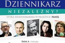 Fragment plakatu reklamującego panel dyskusyjny w SDP.