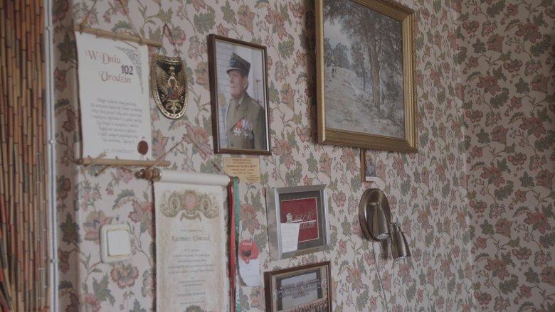 Pułkownik Kazimierz Klimczak ma 105 lat.