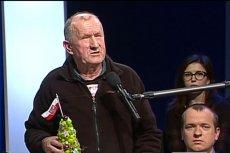 """To właśnie ten mężczyzna sprawił duże problemy prowadzącym program """"Studio Polska"""" w TVP Info."""