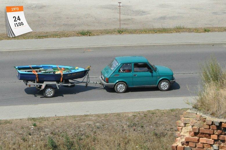 Mały, ale wariat: Fiat 126p często mierzył się z wyzwaniami ponad swoje siły