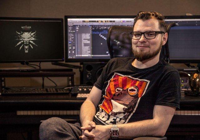 Marcin Przybyłowicz - autor muzyki w takich grach jak Wiedźmin 3: Dziki Gon, Zaginięcie Ethana Cartera i wielu innych.