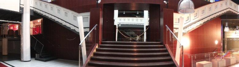 Na tych schodach po raz pierwszy w historii Domu Jabłkowskich, wystąpi teatr