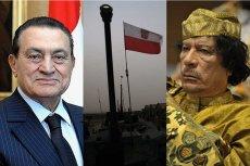 Polskie firmy zbrojeniowe sprzedawały uzbrojenie Hosniemu Mubarakowi  i Muammarowi Kaddafiemu.