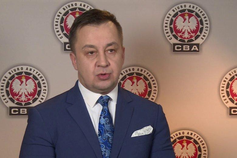 Piotr Kaczorek z CBA zaciągnął kredyt w SKOK Wołomin i go nie spłacił. Teraz odpowiada za kontakty CBA z mediami.