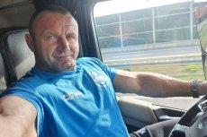 Mariusz Pudzianowski chwalił się zdjęciami w ciężarówce. Teraz jego firma może mieć kłopoty.